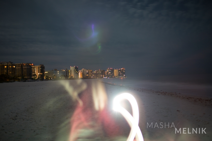 """Insomnia at the Beach"" by Masha Melnik"