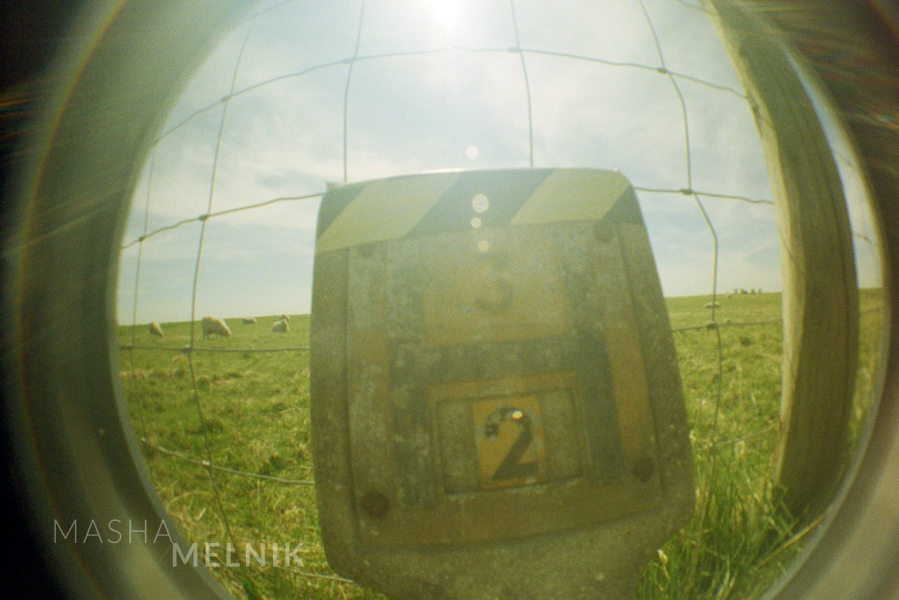 """Another point"" Fish eye photography. Europe. Digital photography art by Masha Melnik."