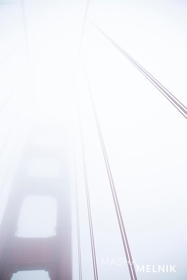 Golden Gate by Masha Melnik