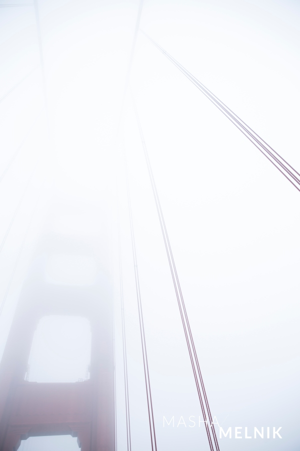 Golden Gate by Masha Melnik