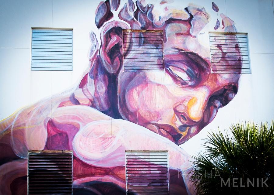 """Miami Street ART"" Design District,  Wynwood Walls. Created 2013 - 2016 year. Moment Inspiration Photography Series by Masha Melnik. Canon EOS Mark 5 III. Canon Lens 70-200 mm Ultrasonic f 2.8 USM."